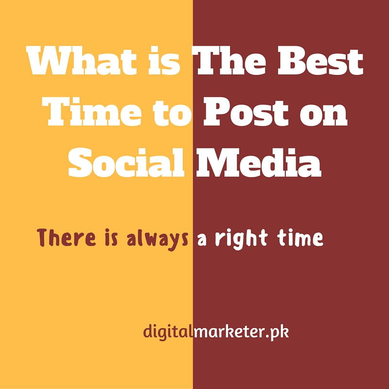 What is The Best Time to Post on Social Media